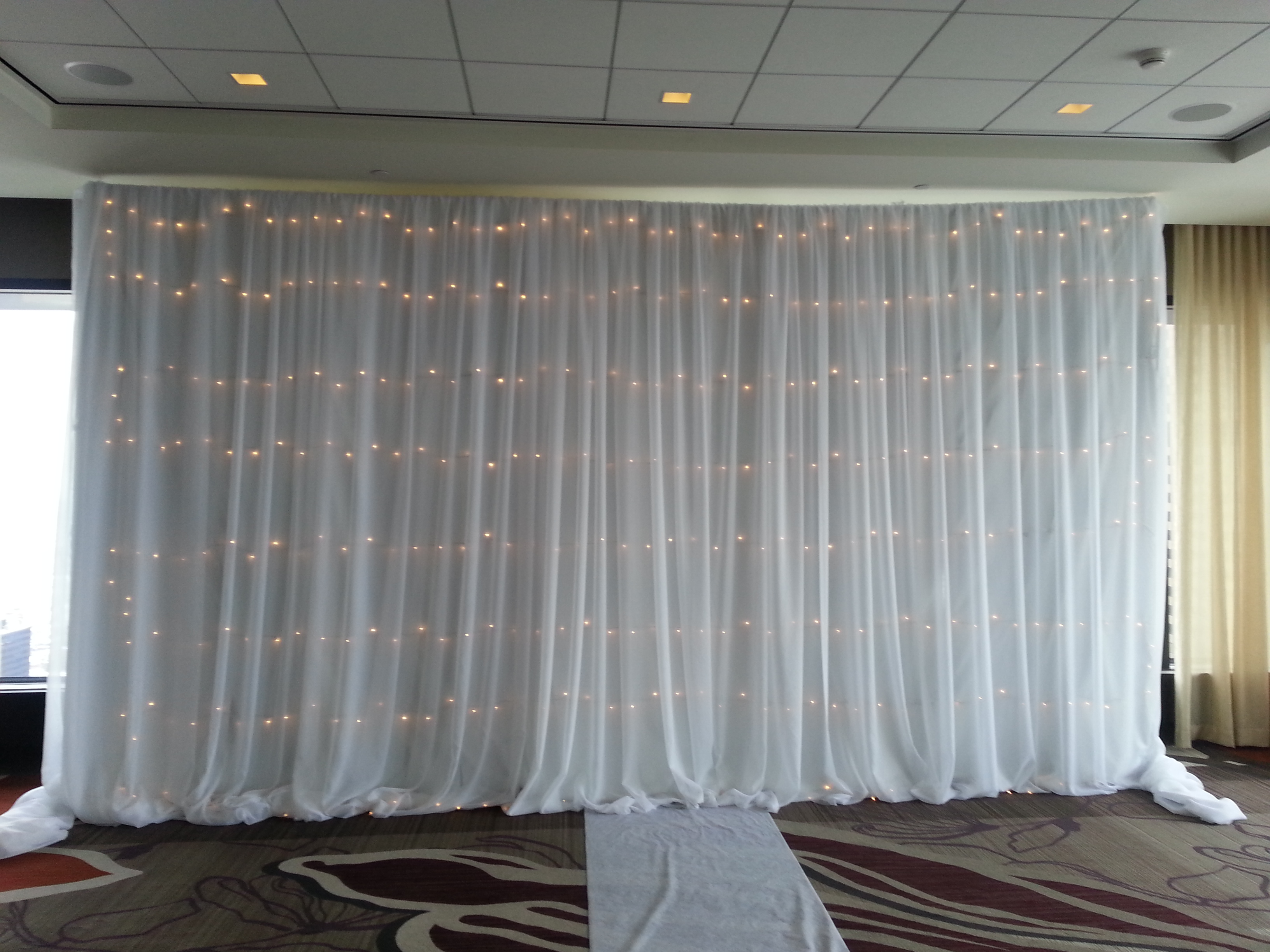 drapes and brilliant diego san draping backdrop pipe rental lighting event
