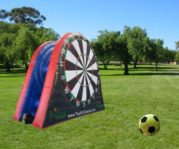 dart board soccer