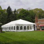 20x40 Tent with Catheral Walls